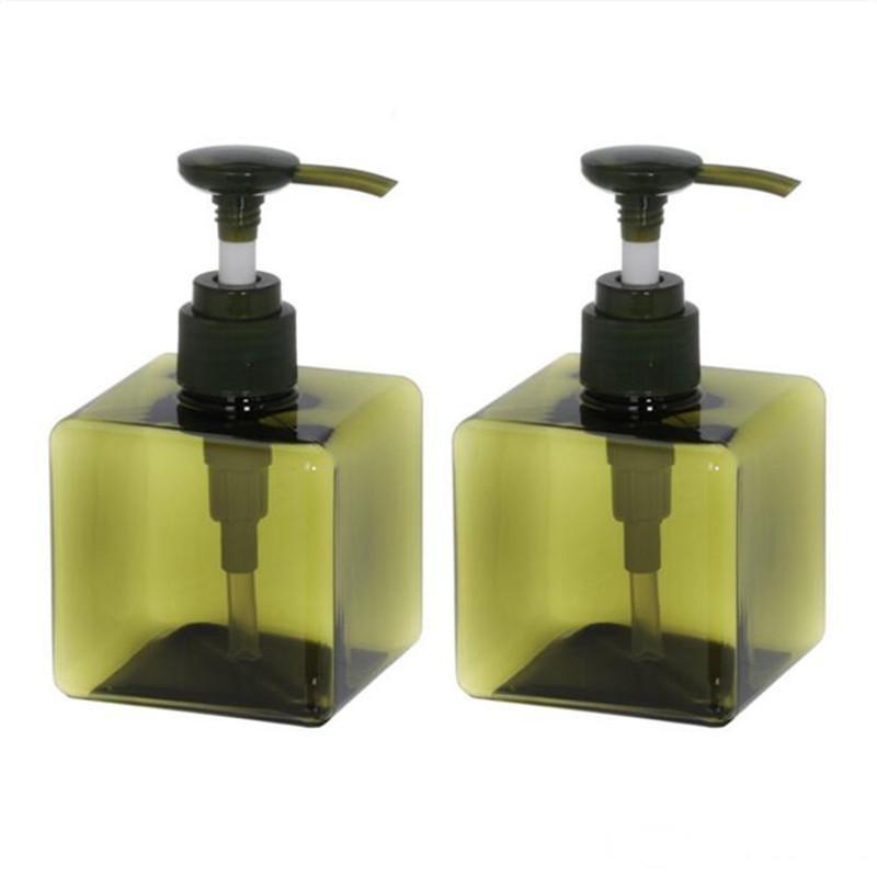 250ml 8.5oz Nachfüllbare Flasche Shampoo Flüssig Seifenspender Pumpe Container Flüssigkeit Flaschen für Küche Badezimmer