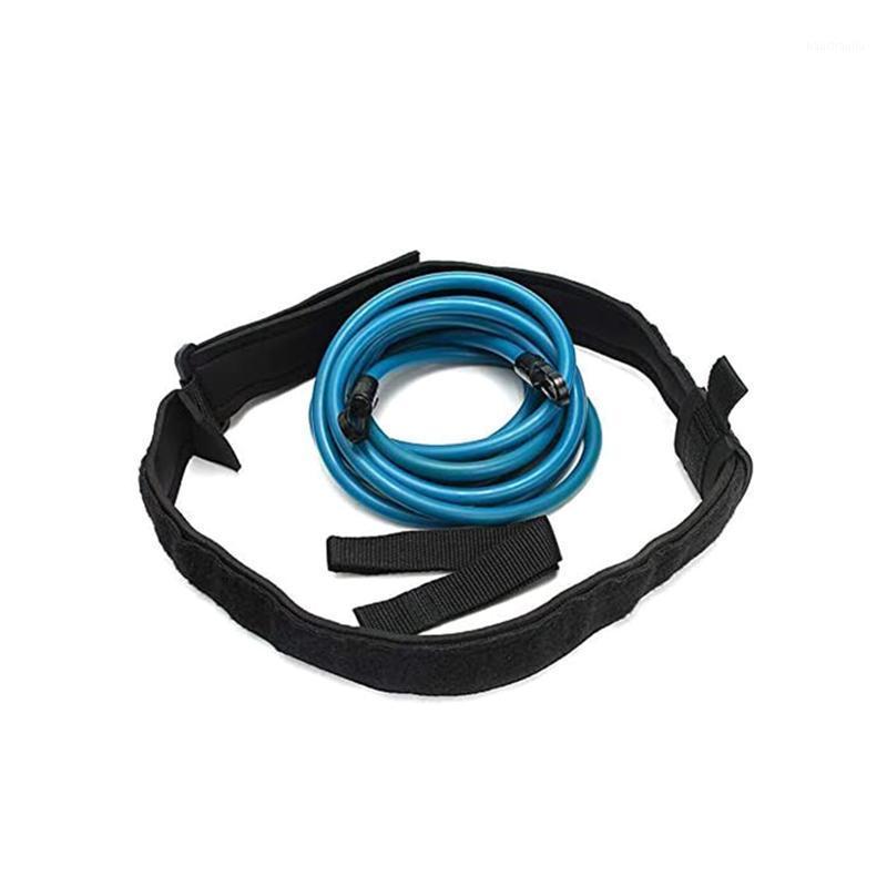 Cinto de resistência de treinamento de natação de harness ajustável 3 / 4m Corda de segurança de segurança ferramenta de piscina exercitador de natação acessórios de corda de segurança1