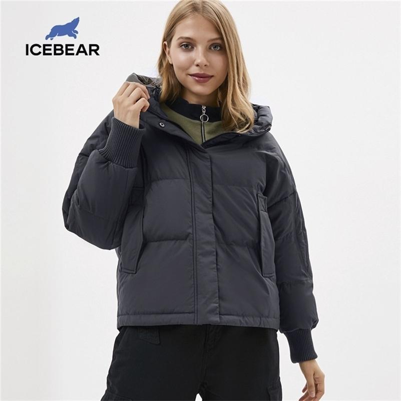 Buzbear 2020 Yeni Kış kadın Aşağı Ceket Moda Kadın Ceket Kadın Parka Kadın Giyim LJ201215