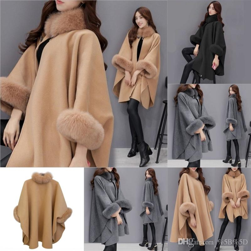 gIb men's windbreaker double-breasted mid-length lapel solid color male jacket coat woolen women women overcoat overcoat fashion Casual