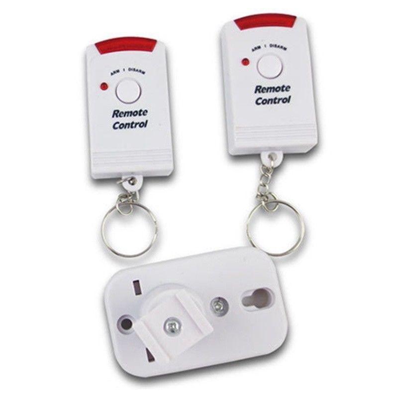 Wireless Motion Sensing Alarm-Sicherheitsgerät mit Fernbedienung für Gartenschuppen Garage JR-Angebote