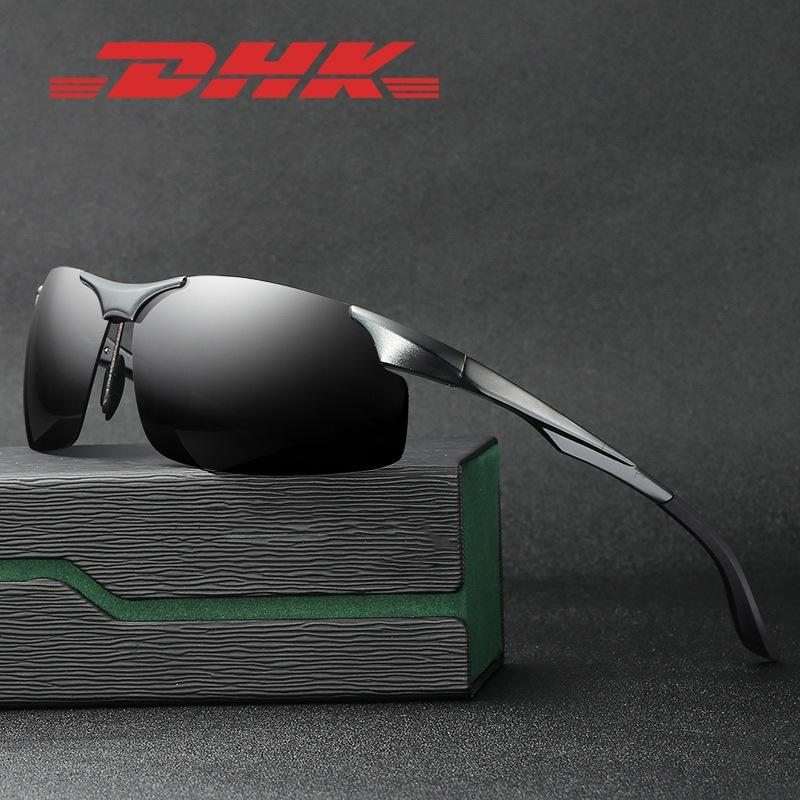 Para las gafas de sol de las gafas de sol de la calidad del metal, la actitud de las gafas de las gafas de la aleación de la aleación de oro de la aleación de oro del marco del marco de la aleación de oro.