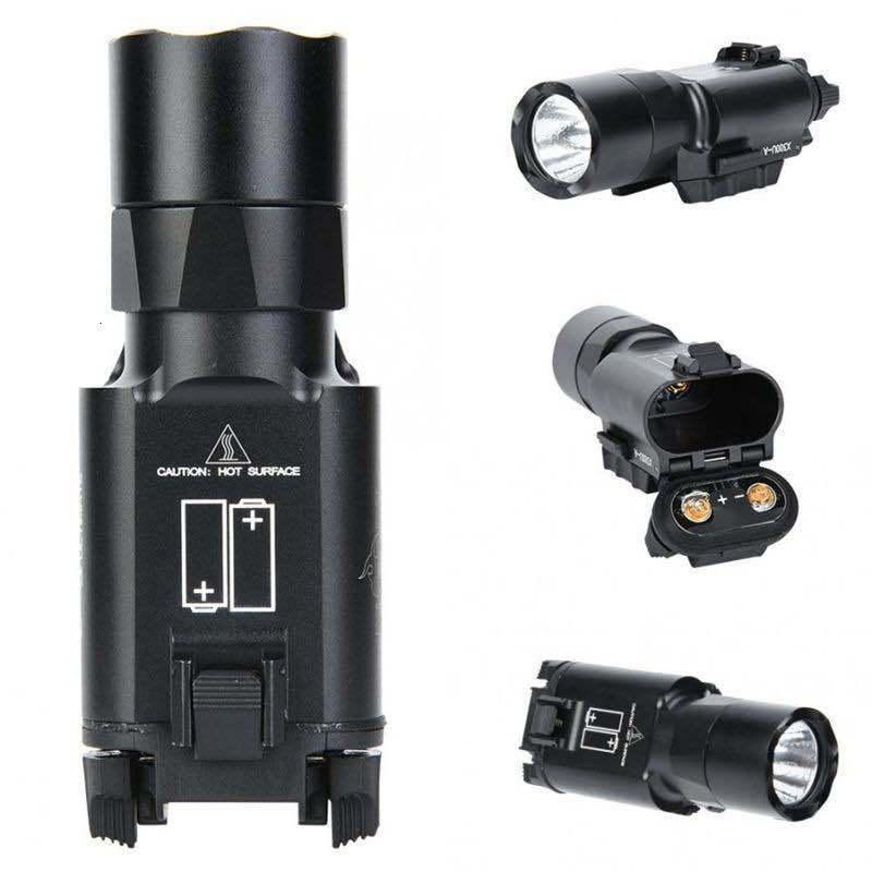 X300U Светодиодный белый подсветку 500 люменов Один подвесной сильный светлый тактический фонарик