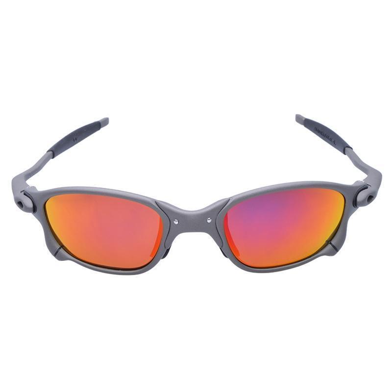 MTB hombres ciclismo gafas de sol gafas polarizadas Marco de aleación Ciclismo Gafas 100% UV400 Gafas de bicicleta Pesca Oculos Ciclismo D4-7 Jlltqnw