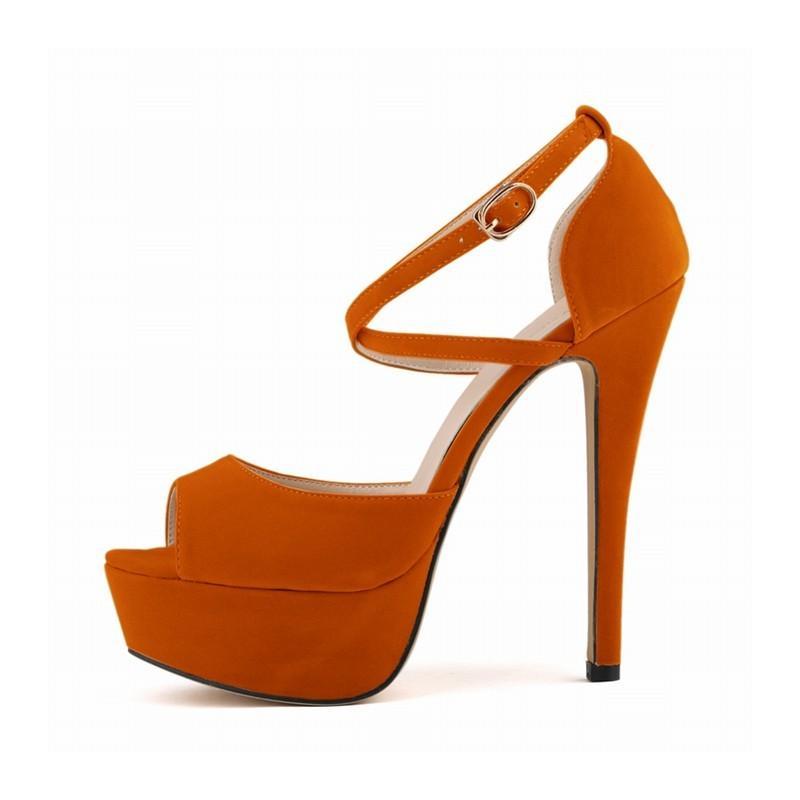 High Gladiator Heels Donne Estate con tiri su Tornozzle Peep Toe Scarpe da sposa mostrate Sandali donna NLK-C0074 8L4Z