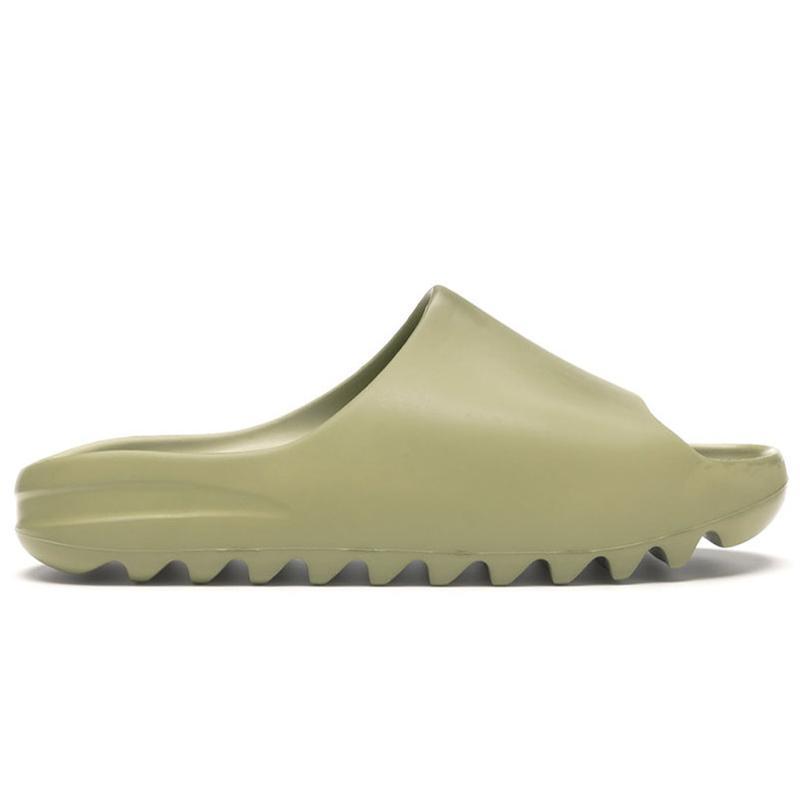 2021 Yeni Varış Terlik Ayakkabı Reçine Kemik Toprak Kahverengi Kurum Erkek Sandal Sneakers Erkek Kadın Eğitmenler ABD 5-11