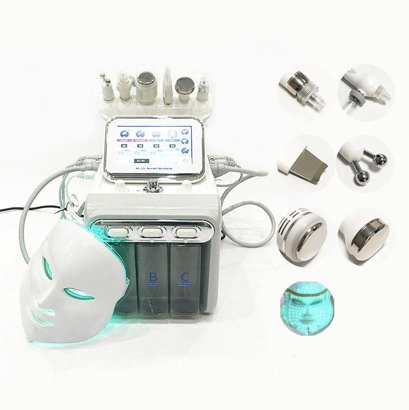7 en 1 Máquina hidráulica Dermabrasion RF Martillo frío Hidro Dermabrasión Hydra Facial Piel Limpieza Máquina de microdermabrasión