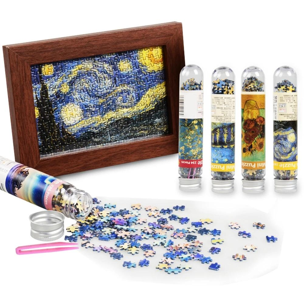 День рождения подарок мини Jigsaw фотография головоломки 234 штуки пейзаж головоломки развивающие игрушки 2021 творческое пребывание дома подарок