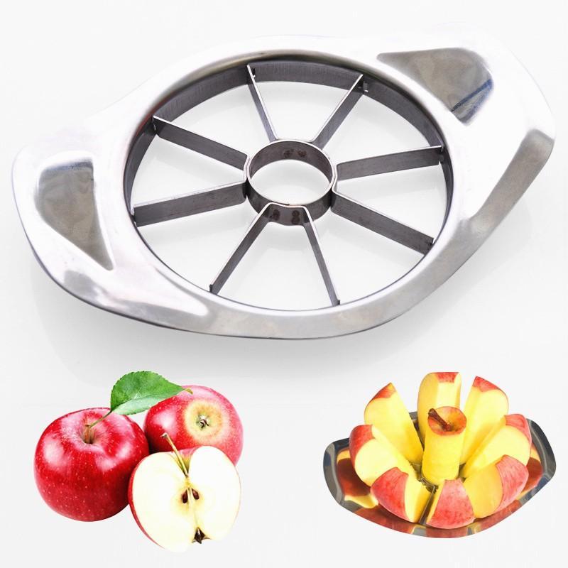 Нержавеющая сталь Фруктовый резак Apple Нож Нож Резка Corer Приготовление Овощные Инструменты Чет-кухонные Гаджеты и аксессуары