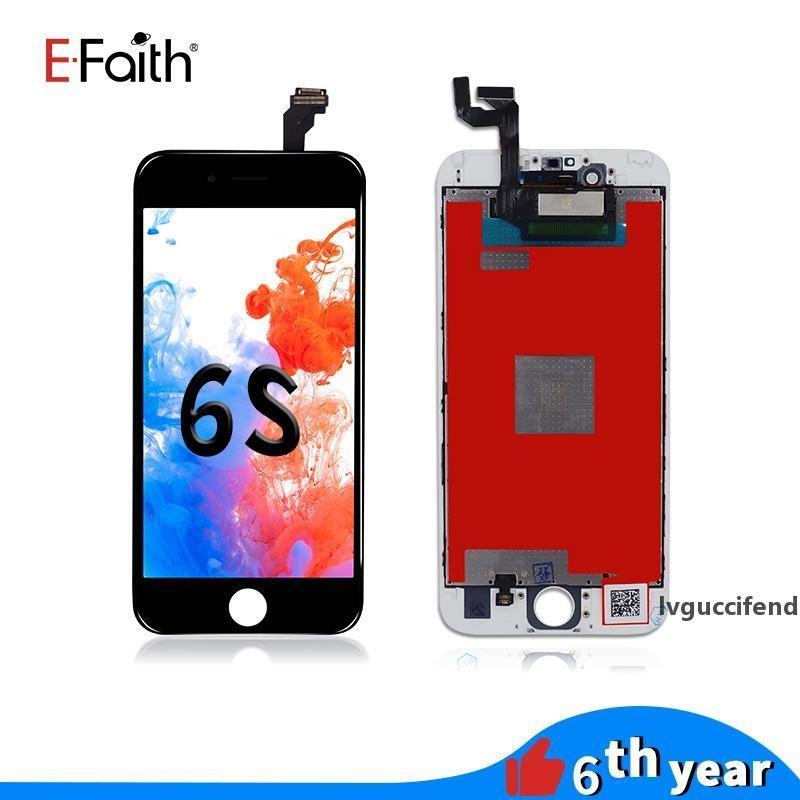 EFAith Black White Hohe Qualität LCD für iPhone 6s Bildschirmbaugruppe 4,7 Zoll Display mit Reparatur-Digitizer-Ersatz Freies Verschiffen