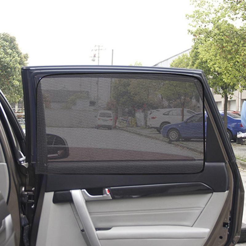 Araba Güneş Gölge UV Koruma Araba Perde Pencere Güneşlik Yan Pencere Mesh Sun Visor Yaz Koruma Film1