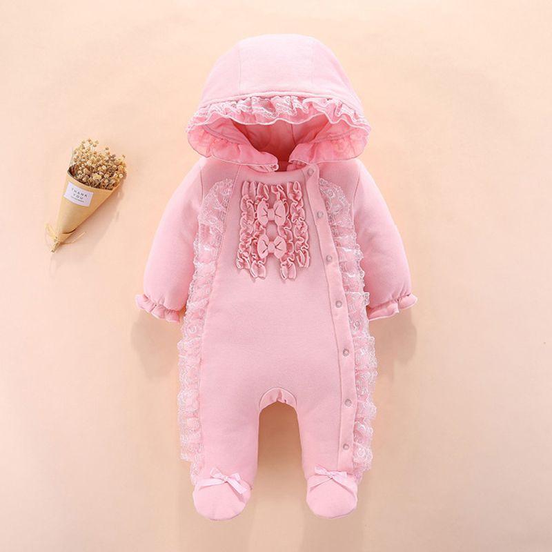 Iyeal Princess Newborn Baby Girls Теплый с капюшоном с капюшоном с капюшоном с капюшоном с капюшоном