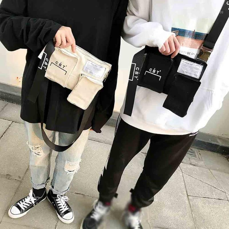 Canvas Tasche Schulter Messenger Bags Tasche Brusttasche Unisex Flap1 Taschen Dame Männer Mode Mini Vintage Xiniu Geldbörse Crossbody Frauen Orxeg