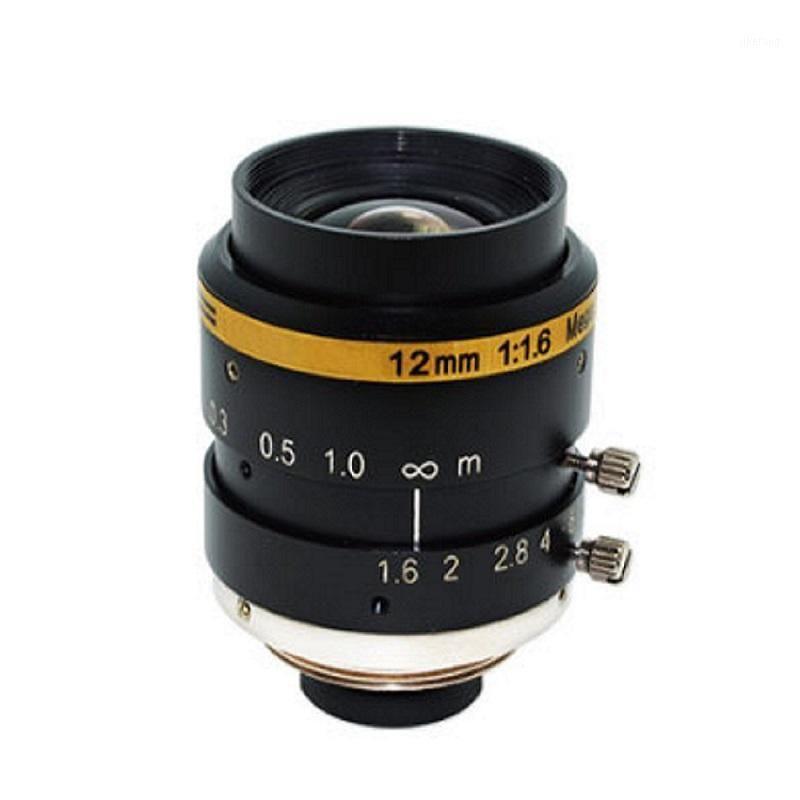 """3 MP 12mm F1.6 Yok TV Bozulması 2/3 """"Sensör 0.1m Modu Güvenlik IP CCTV Kamera için Mod Makinesi Lens (SL-MV1216C3MP-23) 1"""