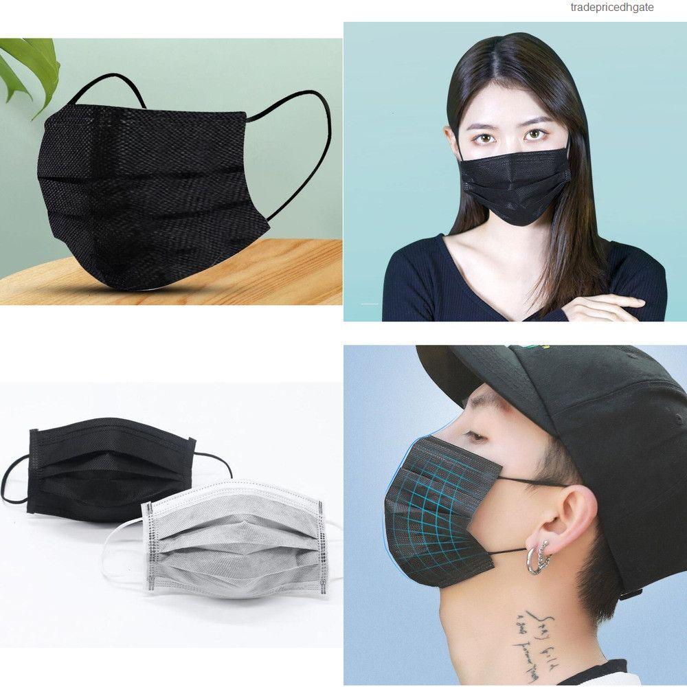 Kullanımlık Maskeler 95 2 Sayfalık 3 Kat KN Yüz Maskesi Ücretsiz Kargo