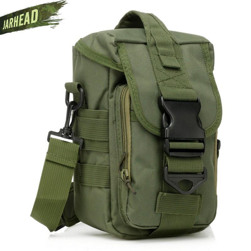 Утилита талии нейлоновая утилита мольла спортивная сумка водонепроницаемая дорожная сумка на открытом воздухе сумка 600D путешествия