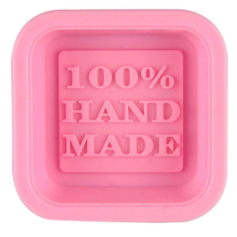 100% Handmade Sabonete Moldes DIY Square Silicone Molds Cozimento Molde Arte Arte Fazendo Ferramenta DIY Bolo Molde CCD2995