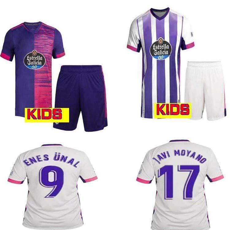 2021 Valladolid Soccer Jersey 20 21 Fede S. R. Alcaraz Oo Sergi Guardiola ÓSCar Plano Camisetas Homens + Kids Football Shirts