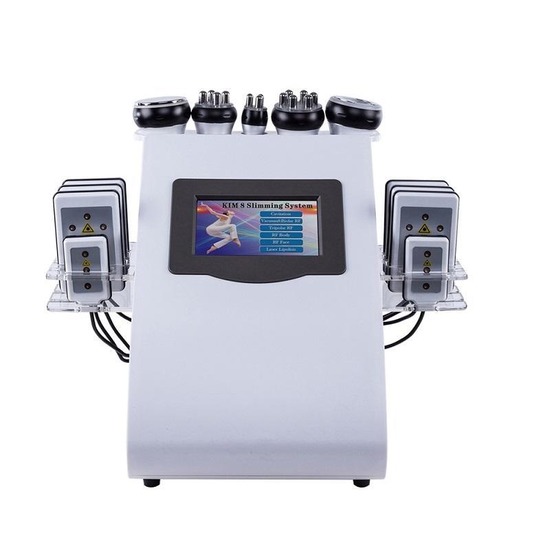 신제품 CE 승인 6 kim 8 슬리밍 시스템 Lipolaser 진공 초음파 cavitation 슬리밍 기계