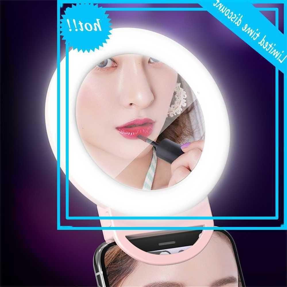 LED Selfie Portable Ring Photography Photography Clip Beauty Riempire lampada per telefono cellulare USB ababbabile