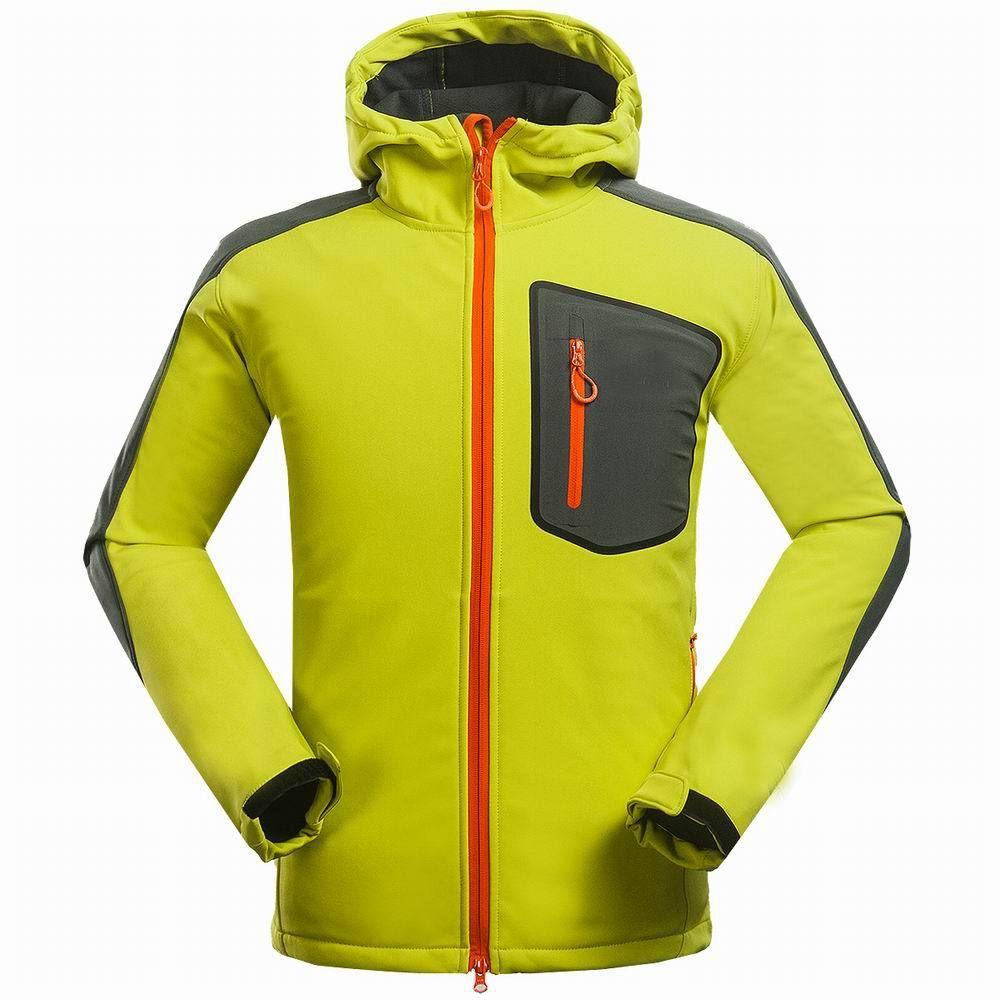 2021 Мода Бренд Зимнее пальто Составное Соединение Мягкая Оболочка Куртка Мужчины Открытый Спортивный Досуг Пальто Горный Восхождение Пешие прогулки Ветерзащитный Размер S-3XL
