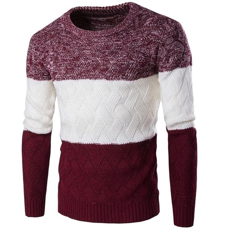 Nouveau chandail Couleur occasionnel Casual Casual Sweater Vêtements 201221