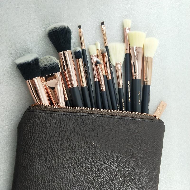 in stock!!Hot Sale Brush 15pcs/Set Professional Makeup Brush Set Eyeshadow Eyeliner Blending Pencil Cosmetics Tools With Bag free shipping