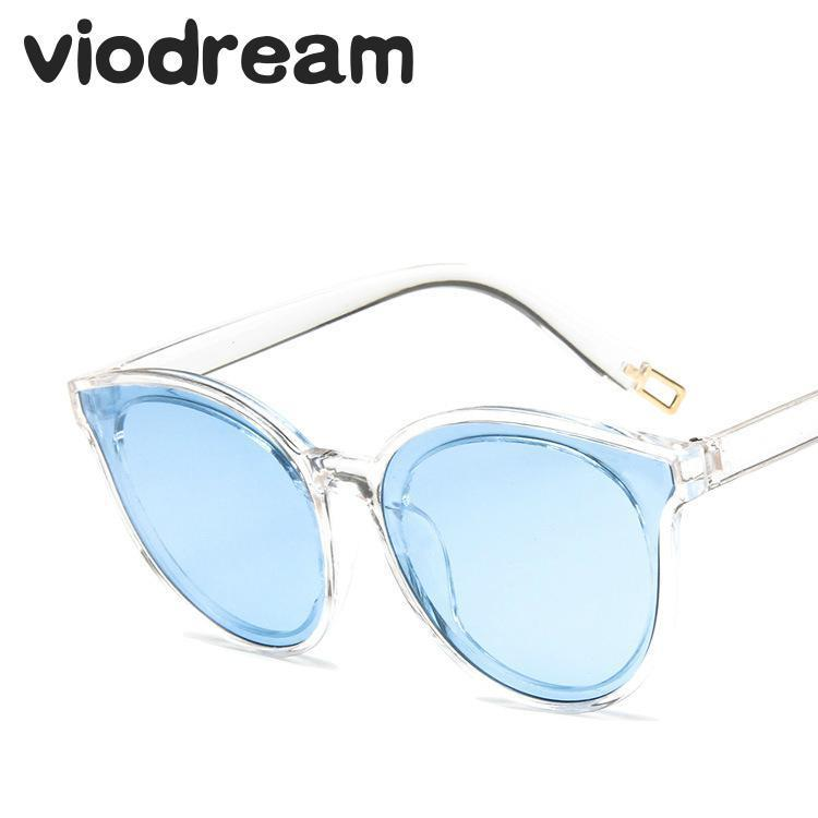 Glasses New Version Tide Uomo Sunglasses Viodream Flat Cool Big Sun 2020 Luxury Women Designer Box Orange Occhiali Brand Sole Da Gwgbp