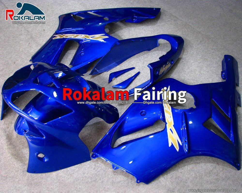 Pour Kawasaki Ninja 2002 2003 2004 2005 2006 2006 ZX12R ZX-12R ZX 12R ABS Catériel Coroins de carénage (moulage par injection)
