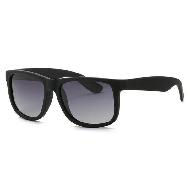 أزياء الرجال نظارات المرأة القيادة النظارات UV400 في الهواء الطلق التدرج نظارات الشمس الإطار الأسود جودة عالية مع القضية