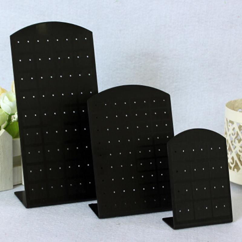 1 ADET 24 \ 48 \ 72 Parça Plastik Küpe Ekran Standı veya Uygun Takı Tutucu Gösterisi Vaka Aracı Raf Vitrin Güzellik