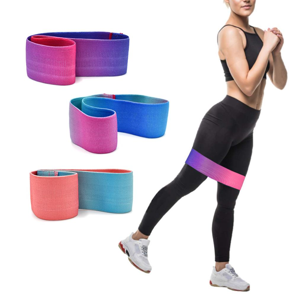 The New Unisex Workout Exercise For Legs Thigh Glute Butt Squat Non-slip Bands