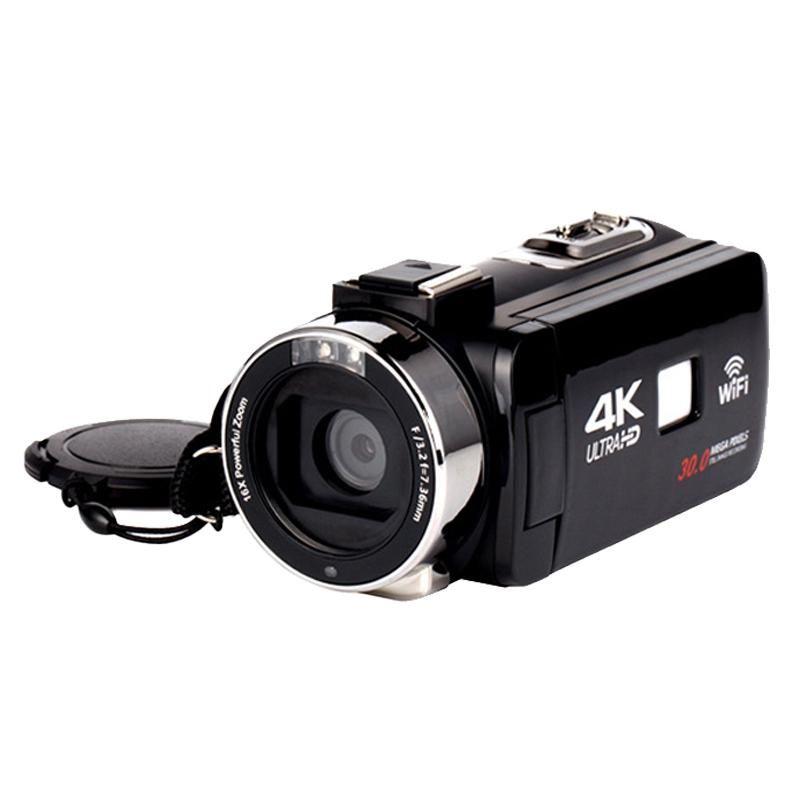 Suite-Digital Fotocamera da 3,0 pollici Premere 30 milioni di pixel Fotocamera digitale 1080P HD Supporto microfono Anti-Shake 16x Zoom