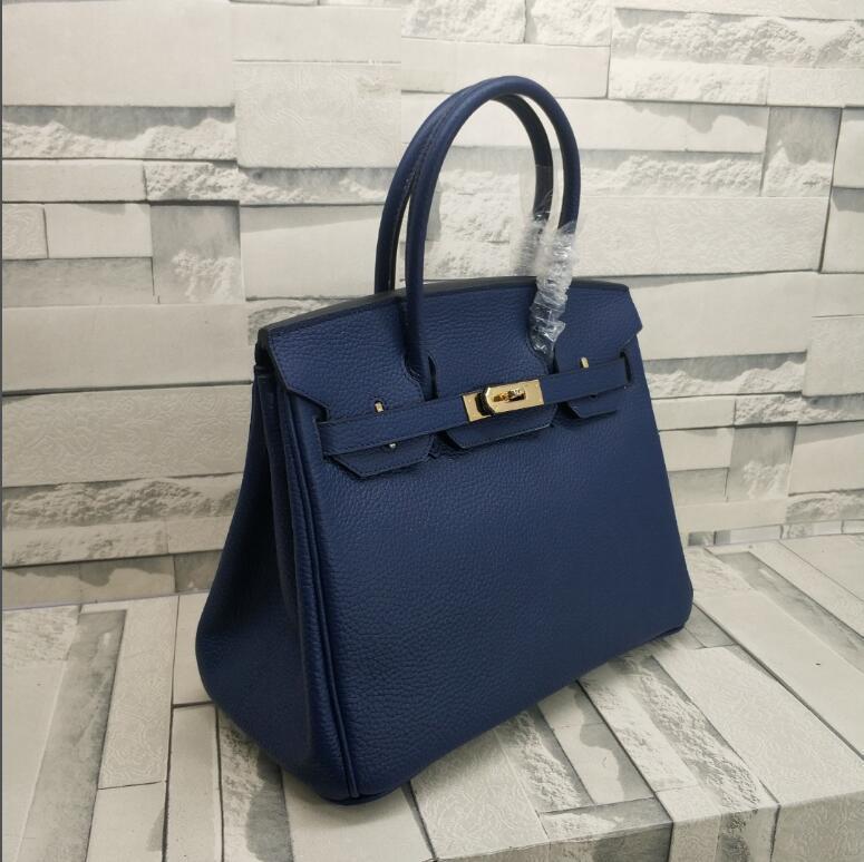 أكياس الأزياء الجديدة النساء حقائب الكتف حقائب مع قفل مختوم cowskin جلد طبيعي حقيبة وشاح الحصان سحر