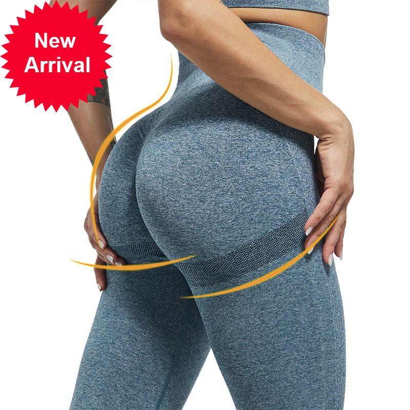 Sexy Bubble Butt Butt De Leggings High Taille Fitness Filging Push Up Sport Pants Femmes