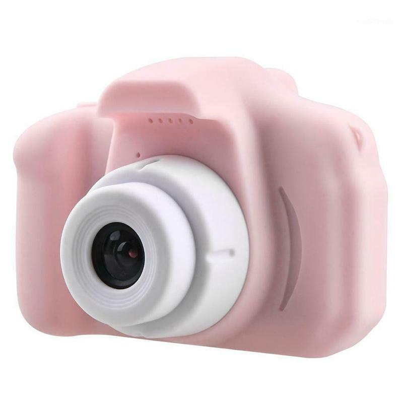 X2 Çocuk Mini Video Kamera 2 inç Dijital Fotoğraf Kamera Ekranı Chargable Dijital Mini Kamerafor Çocuk Hediye1