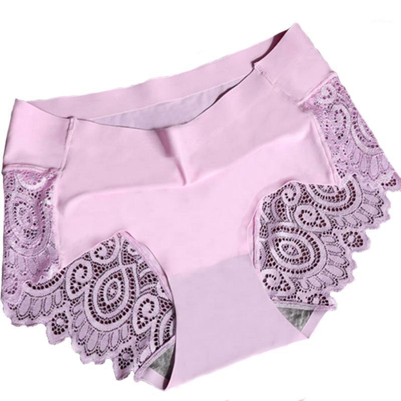 2020 Femmes Nouveau Sexy Dentelle sans couture Sous-vêtements Sous-vêtements Sous-vêtements Stiques Slips Sous-vêtements Pantalons pour Dames1
