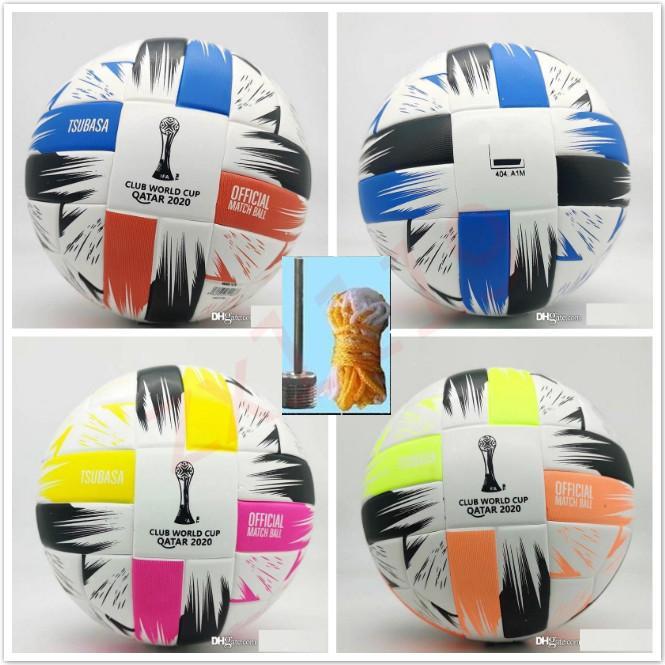 2020 클럽 월드컵 크기 5 공 축구 공 고급 니스 경기 리가 프리미어 20 21 축구 공 (공기가없는 공)