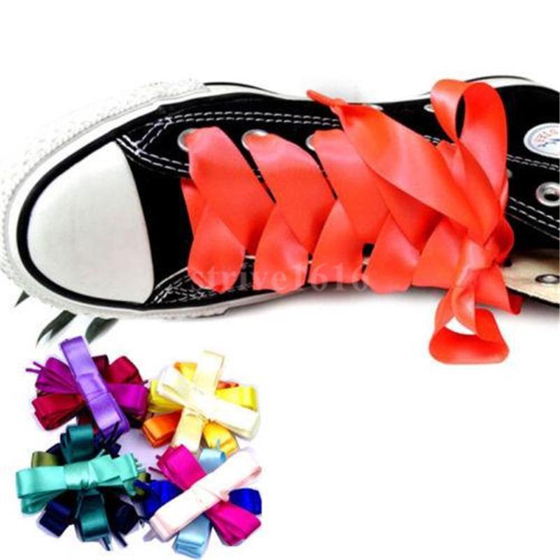 """새로운 다채로운 레이스 편지 글꼴 8mm 양면 인쇄 """"구두 끈""""화이트 블랙 레이스 서명 플랫 신발 LACET 조인트 Shoelace 120 140 160cm"""