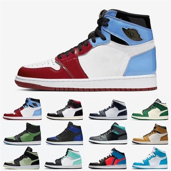 Korkusuz Yüksek Düşük Crimson Ton Erkek Basketbol ayakkabıları Hafif Duman Gri Barely Volt Saten Yılan Erkekler Kadınlar Spor Sneakers Zapatos 1s