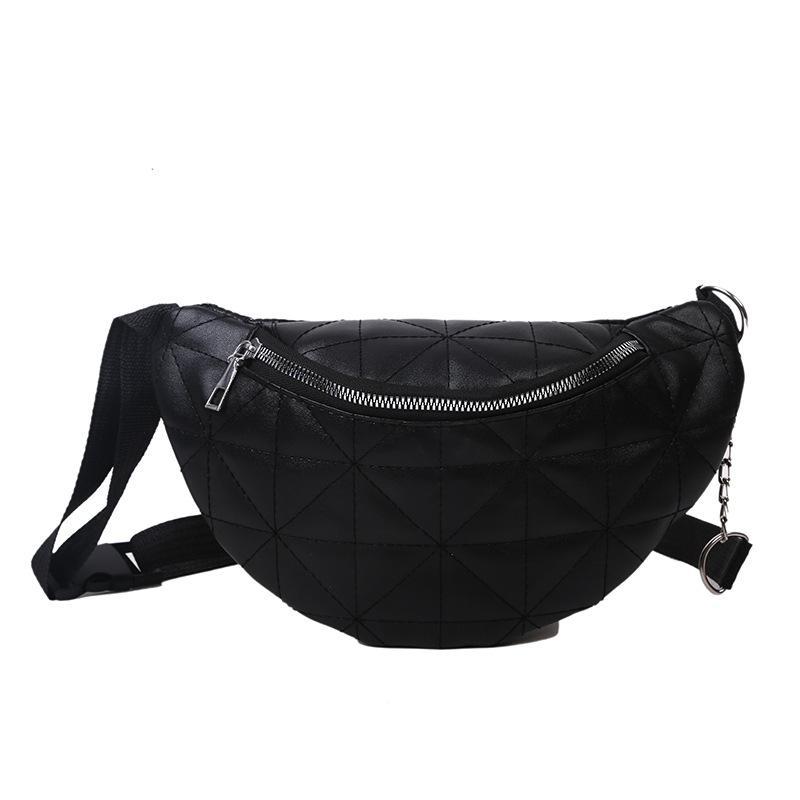 Для женщин 2020 Bumbag сумка женщина VOAQS белый черный пояс мода леди банан кузов крест мешок мешок талия и красота хохха