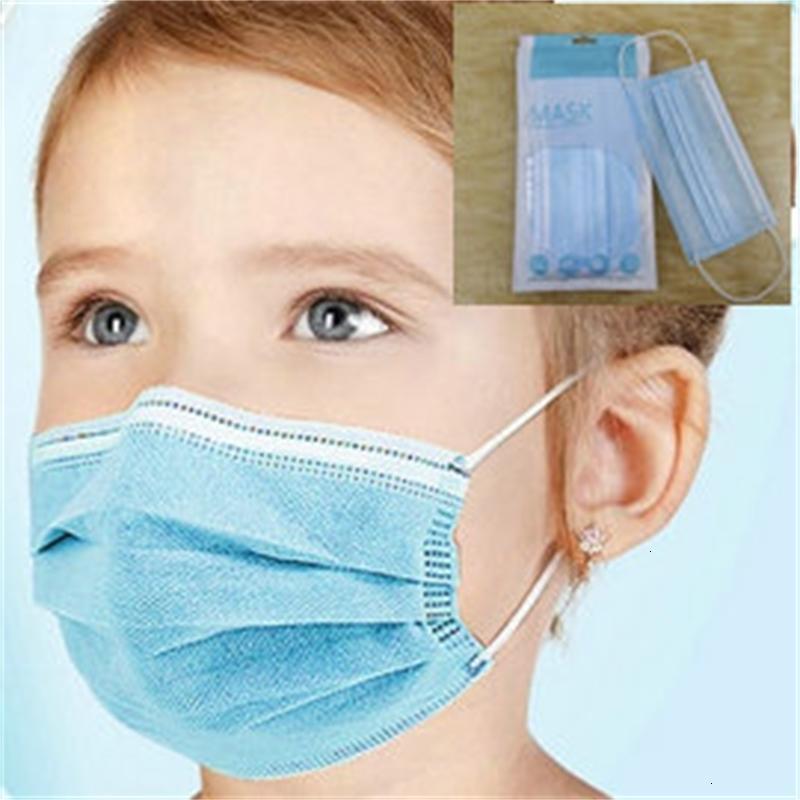 FactoryHljumask Layer Mode Individual 3 Einweg-Schutz-Schwarz-Gesicht-Schild-Mund-Mund und Kinder mit Einzelhandels-Packung