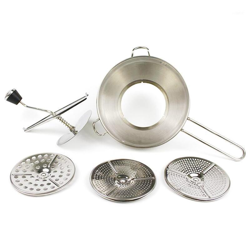 Edelstahl-Handschleifmaschine Baby Gemüse-Fruchtmännchen Kartoffel-Zerkleinerungsschleifer1