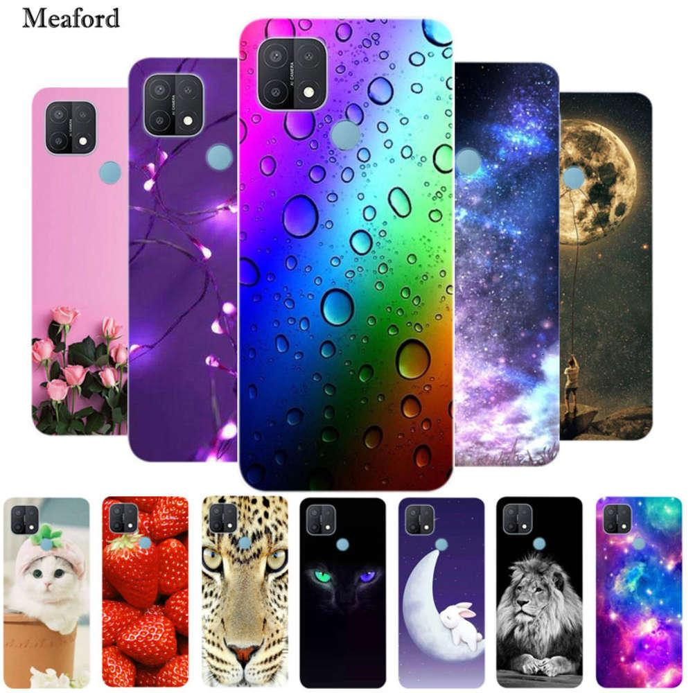 bgrfOppo A15 mobile phone cover 2020 fashion silicone soft TPU back oppo A15 mobile phone cover oppoa15 bumper oppoa15 to 156.52swza