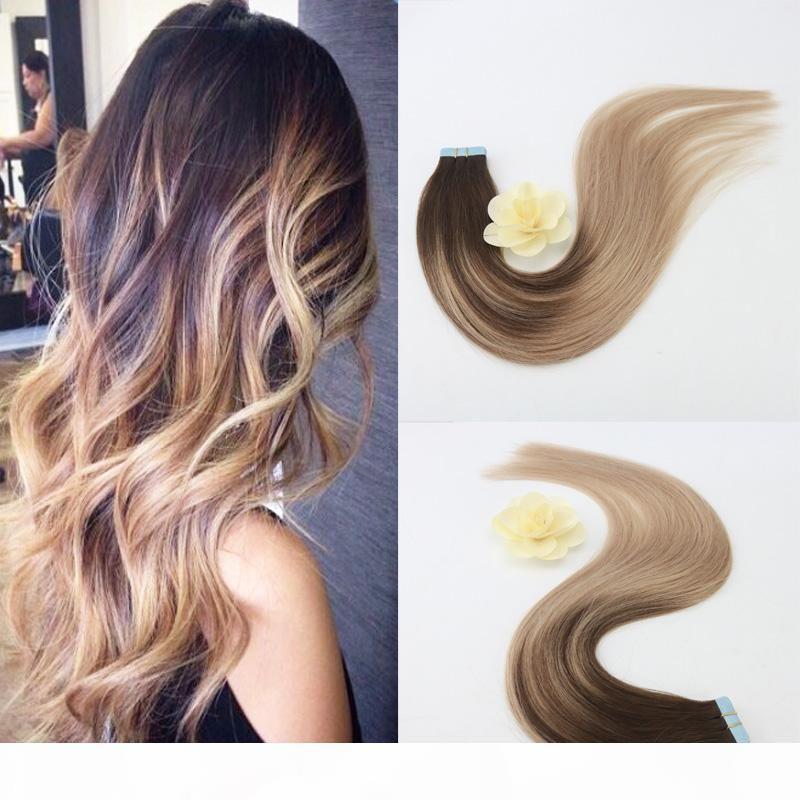 Nastro facile da tingere umana africana americana di estensioni dei capelli brasiliani principessa del tessuto dei capelli per gli afroamericani