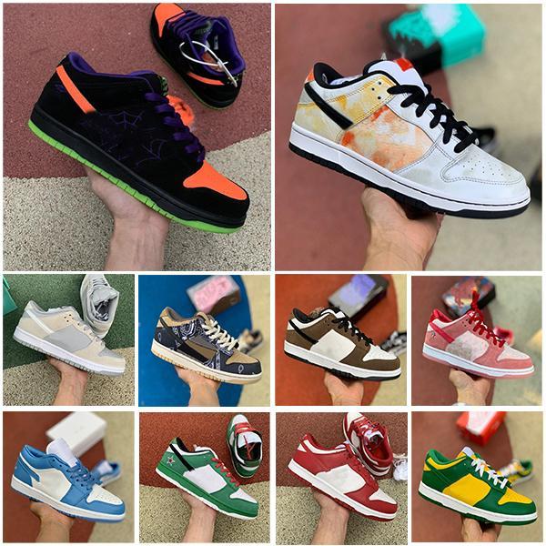 En iyi Üst SB Düşük QS Deri Kaykay Ayakkabı Kaykay Ayakkabı Strangelove Dunk Tasarımcı Sneakers Atletik Ayakkabı 36-44