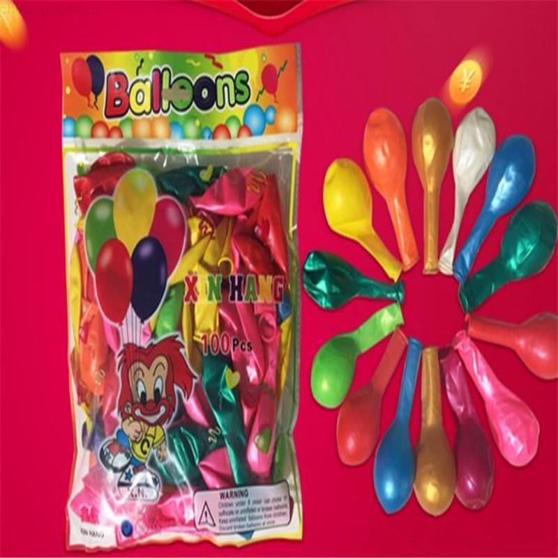 Dhl latex frei verdicken 10 zoll hochzeit dekorationen bogen ballon kinder neuheit spielzeug party ornament