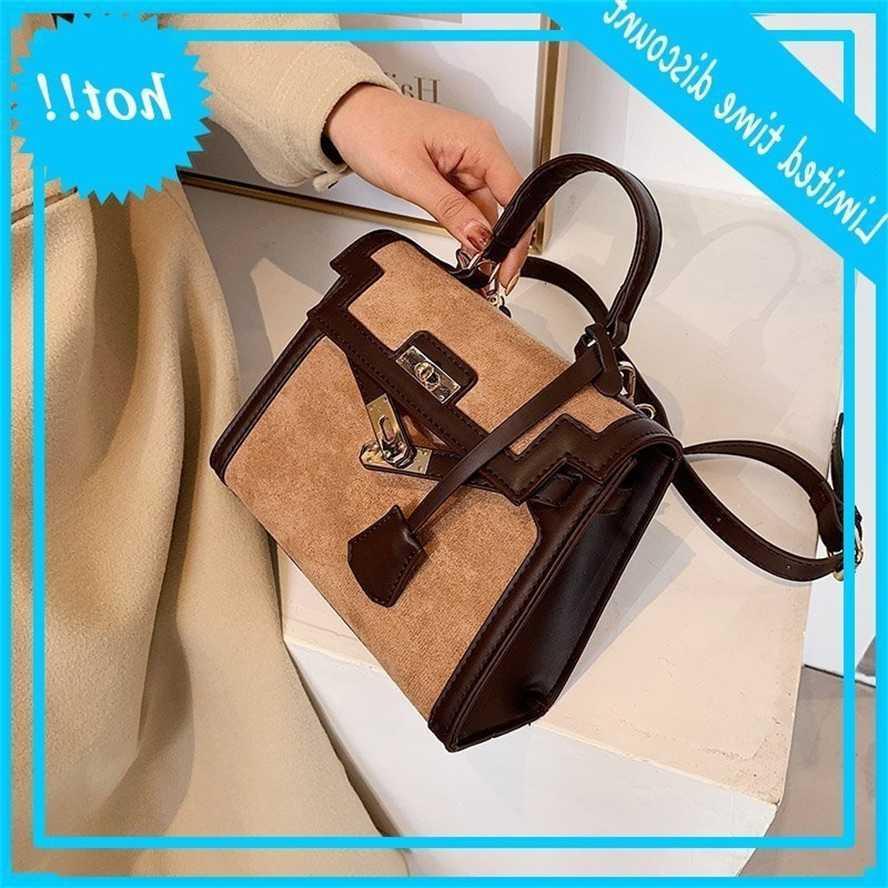 women's autumn and winter 2020 new fashion Kelly texture niche Design One Shoulder Messenger bag