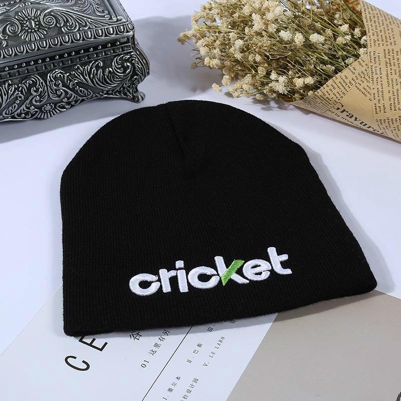 جديد مخصص محبوك قبعة الأزياء التطريز قبعة جيدة الترويجية المنتجات الصلبة الشتاء الدافئة قبعات بالجملة شحن مجاني