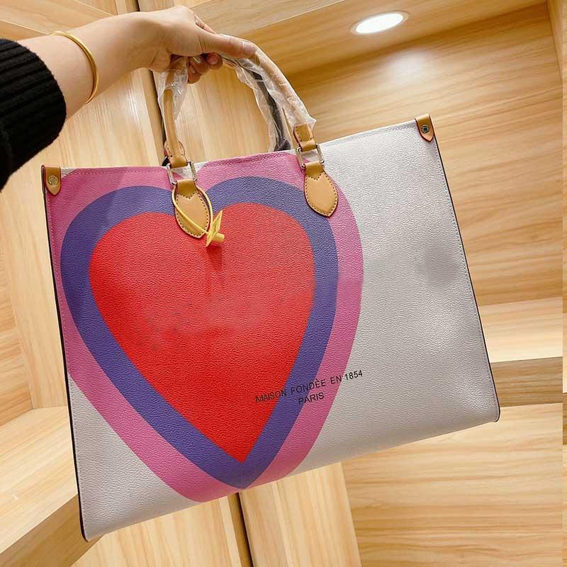 42cm 30cm 24cm Large Capacity Package Shopping Bags Women Handbag Purse Old Flower Craft Lady Tote Bag Fashion Shoulder Bag Mom Carrier Bag